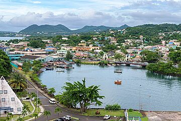 The second citizenship of Saint Lucia. Immigration in Saint Lucia, #1